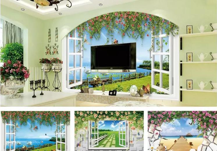 電視背景墻壁畫
